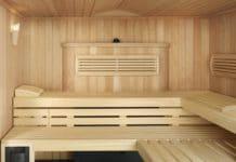 Скамья в бане
