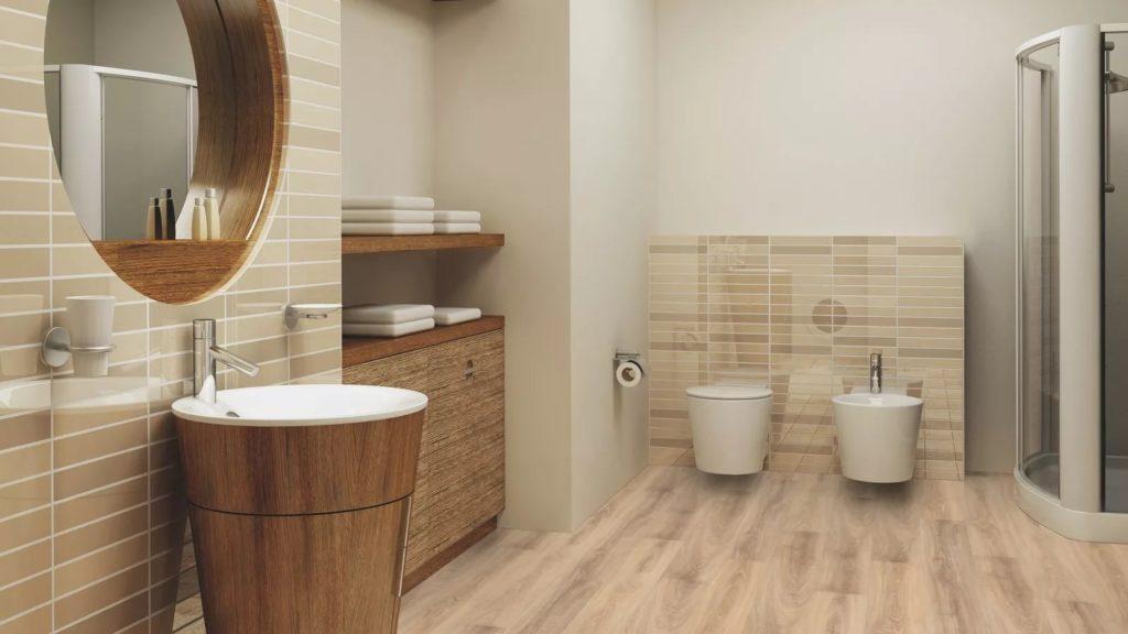габариты туалета в деревянном доме