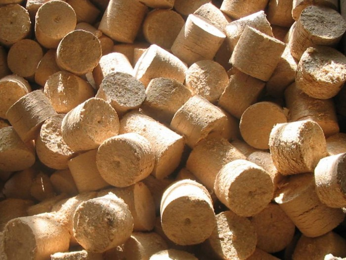 Деревянные брикеты