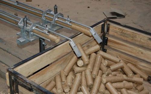 Производство древесных пеллет